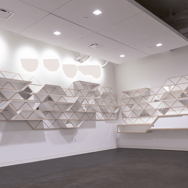 Geometric Shelving System | Full View