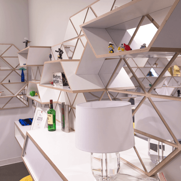 Geometric Shelving System | Detail