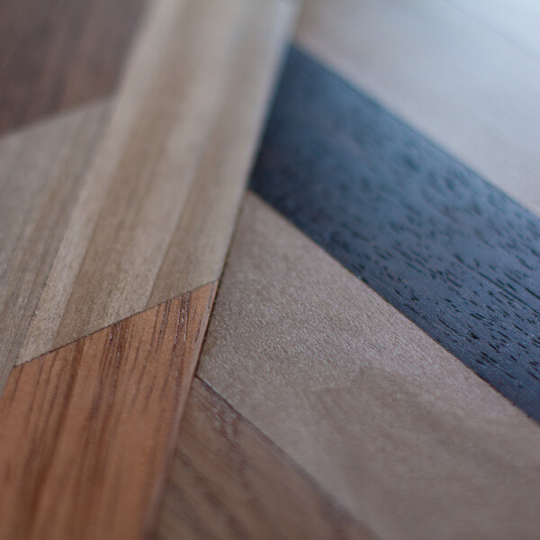 Quilted Wood   Detail
