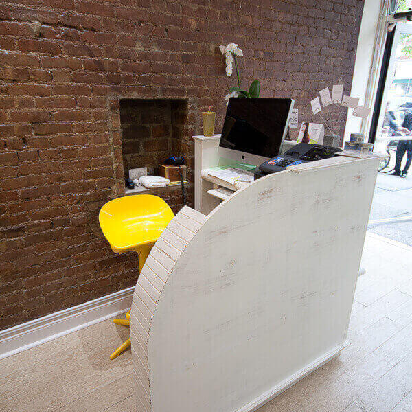 Reception Desk Back View